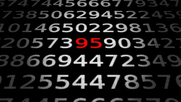 Zahlen, bitte! 95 Bit in einem Strichcode