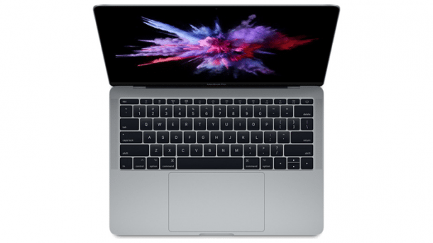 MacBook Pro 2017 ohne Touch Bar