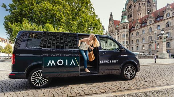 VW-Tochter Moia erweitert Shuttle-Dienst in Hannover