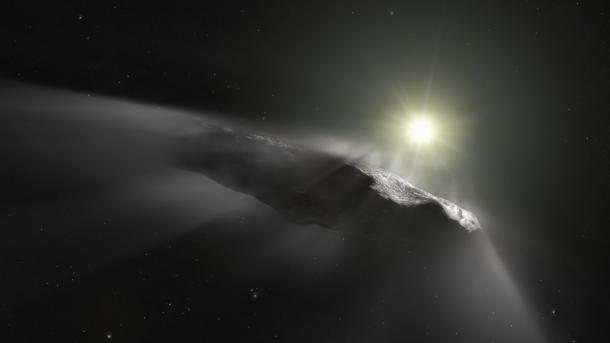Interstellarer Besucher 'Oumuamua ist ein Komet