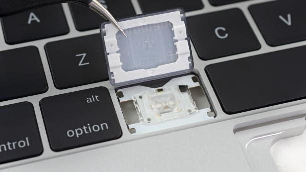 MacBook und MacBook Pro: Einzelne Tasten nicht unzerstörbar reparierbar