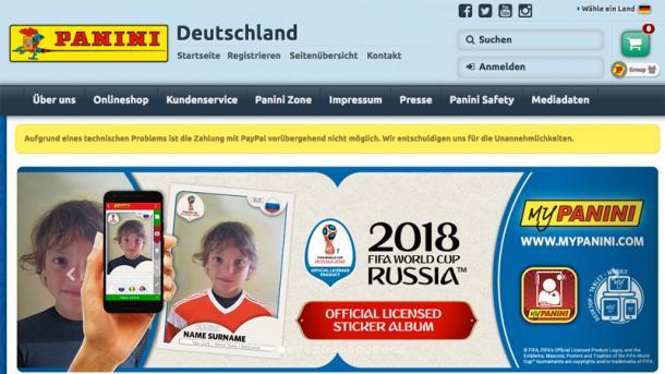 Fußball-Sammelbildchen: Datenschutzpanne beim Online-Dienst von Panini