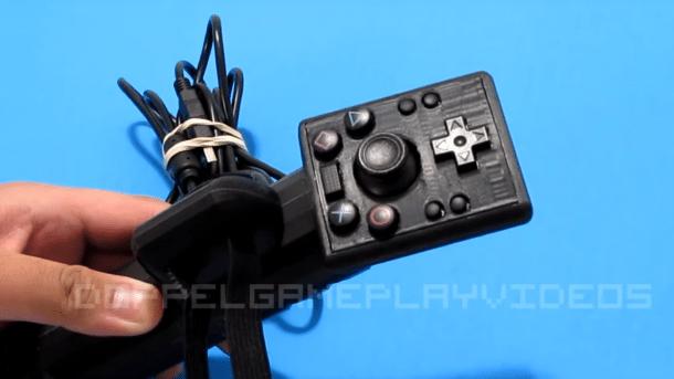 Einhändig nutzbarer PS4-Controller aus dem 3D-Drucker