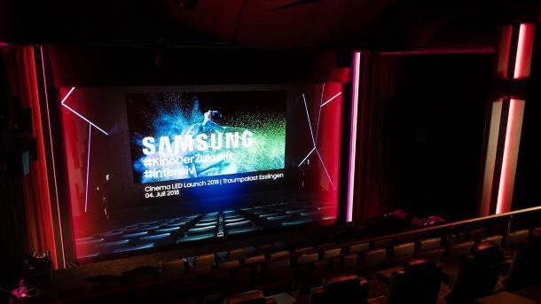 Cinema LED Screen: Erster deutscher Kinosaal mit LED-Bildwand