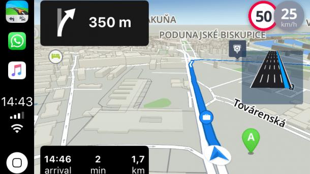 CarPlay: Erste Alternative zu Apple Maps angekündigt