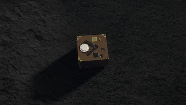 Hayabusa2 am Asteroiden Ryugu: Deutscher Lander Mascot meldet sich