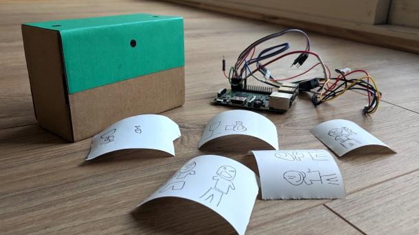 Draw this - Raspberry Pi trifft Thermodrucker