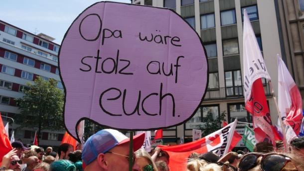 Großdemo gegen das Polizeigesetz NRW