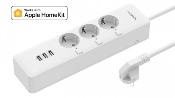 Steckdosenleiste mit HomeKit-Unterstützung