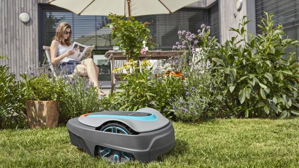 Digitaler Garten: Mähroboter statt Rasenmäher