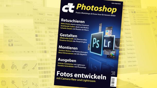 c't Photoshop im Handel erhältlich