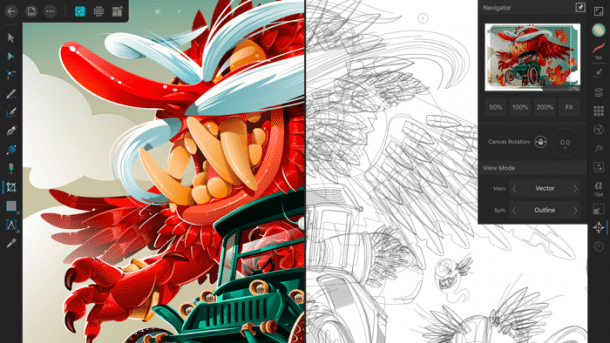 Profi-Vektorgrafik: Affinity Designer kommt fürs iPad