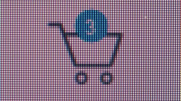 Warenkorb im Internet