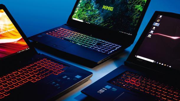 Drei Notebooks mit Coffee-Lake-CPU im Test