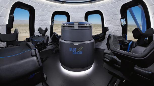 Jeff Bezos' Blue Origin: Weltraumtourismus ab 200.000 US-Dollar