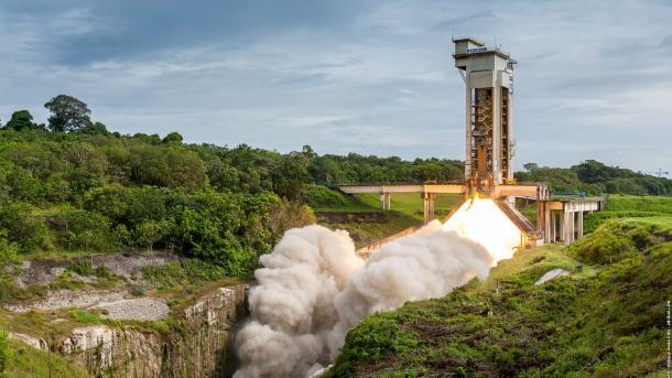 ESA testet erfolgreich Triebwerk für Raketen Vega C und Ariane 6