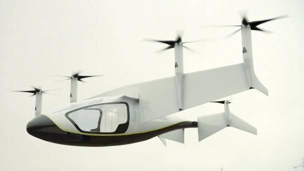 Elektroflugzeug: Rolls-Royce stellt Konzept für Flugtaxi vor