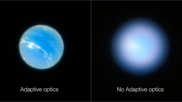 Adaptive optik: very large telescope erreicht die theoretisch