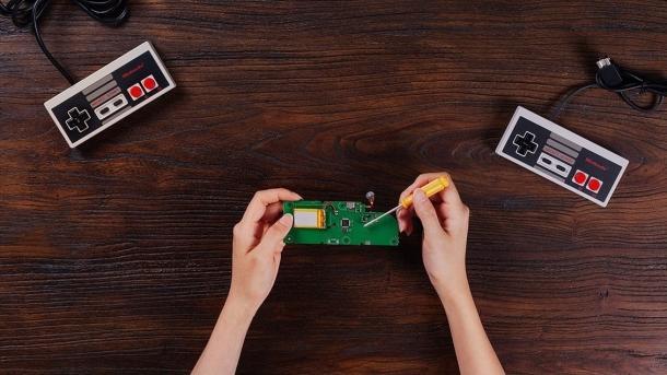 Originale NES-Controller mit Bluetooth betreiben – dank Selbstbauset