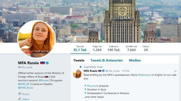 Moskau startet Internetkampagne für in den USA inhaftierte russische Agentin