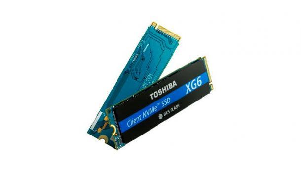 Toshiba XG6: erste SSD mit 96-Layer-NAND