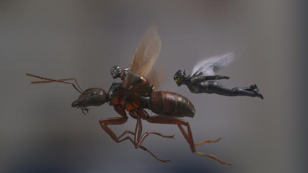 Ant-Man and the Wasp: Klein, aber oho