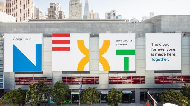 Google Cloud Next: Ganz viel Sicherheit – und Maschinen lernen überall