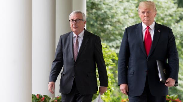 EU und USA wenden Eskalation im Handelsstreit ab