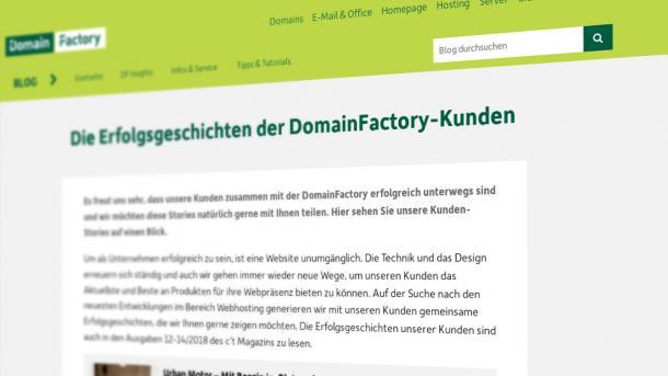 Nach Hackerangriff: Domainfactory sichert Kundeninterface mit Web Application Firewall