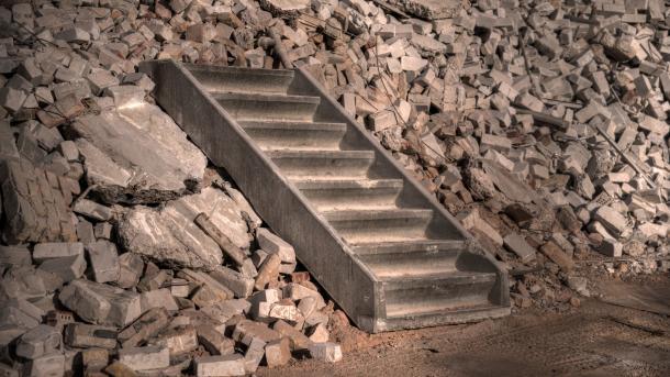 Fortschritt, Treppe