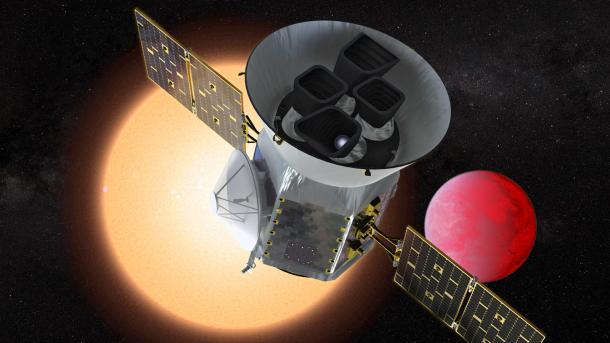 Exoplanetenjäger der nächsten Generation: TESS nimmt Arbeit auf