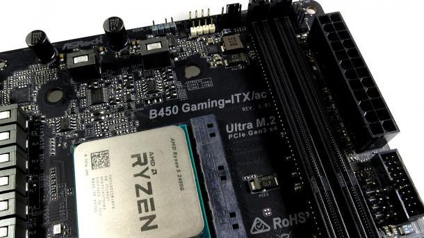 Neuer AMD-Chipsatz B450 für günstigere Ryzen-PCs