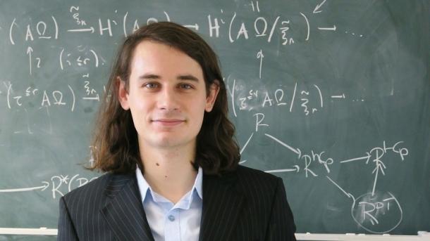 Bonner Mathe-Professor Peter Scholze mit Fields-Medaille geehrt
