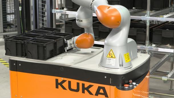 Roboterbauer Kuka hat zu kämpfen