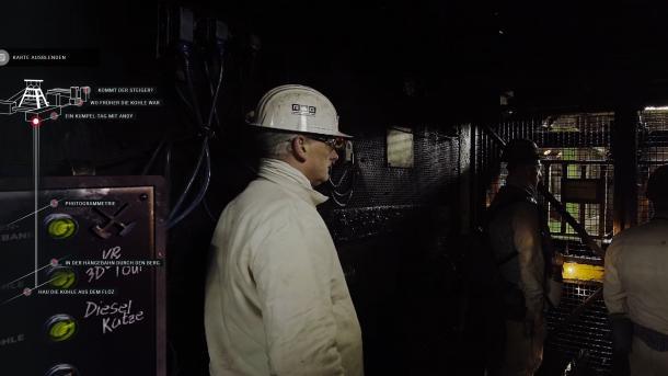 Virtuell zum Kumpel werden: Mit VR Bergbaugeschichte konserviert