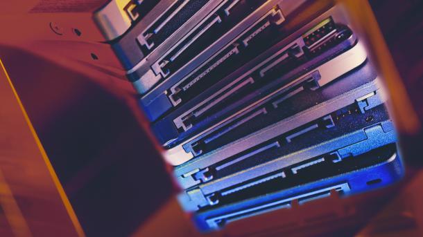 SSD, Speicher, Festplatte