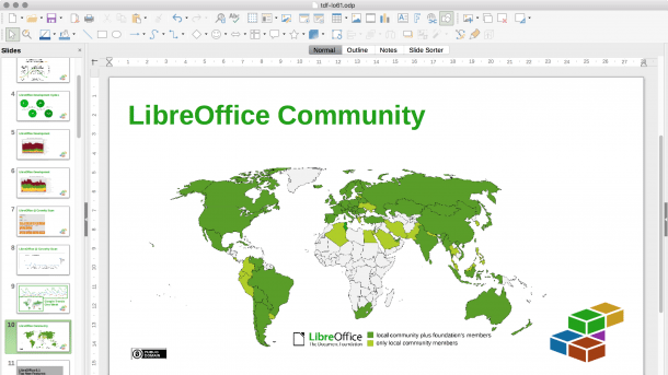 LibreOffice 6.1 mit Microsoft-konformem Icon-Design