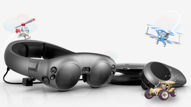 AR-Brille Magic Leap One ausprobiert
