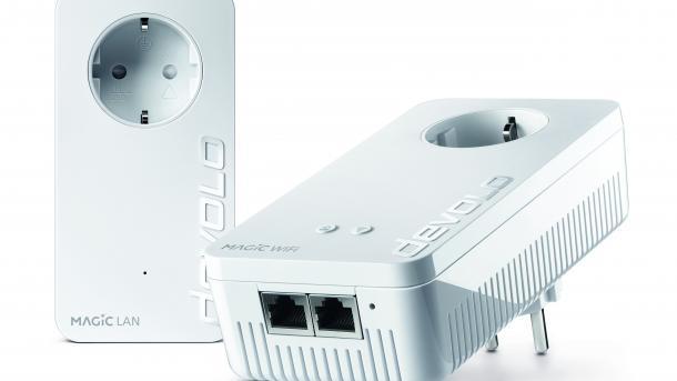 Powerline-Turbo: Devolo erhöht Datenrate