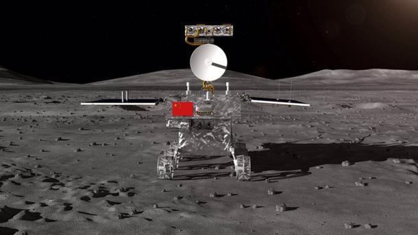 China zeigt erstmals Rover für Reise auf die Rückseite des Mondes