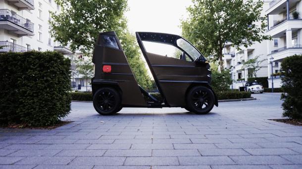 Elektroauto iEV X lässt sich ausziehen