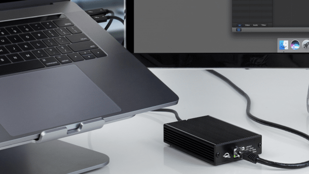 10GbE-Adapter für Thunderbolt 3