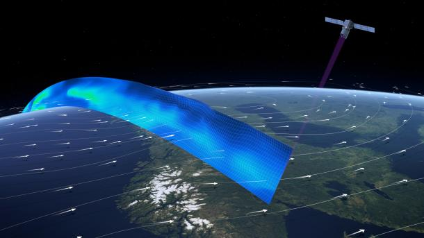 ESA-Windsatellit Aeolus soll Wettervorhersage deutlich verbessern