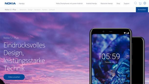 HMD Global: Nokia 5.1 Plus kommt nicht nach Deutschland