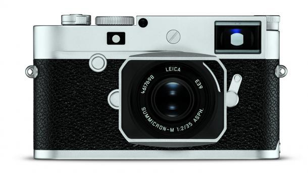 Mit Touchscreen, aber ohne roten Punkt: Leica M10-P