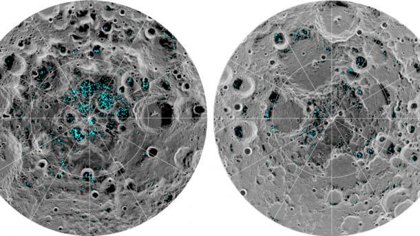 Raumfahrt: Beweise für Wasser auf dem Mond gefunden