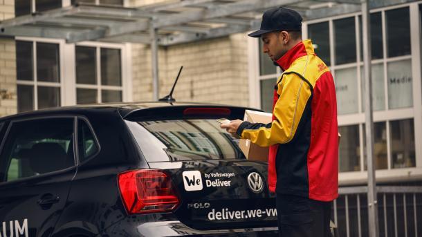 VW: Paketlieferungen in den Kofferraum ab 2019 möglich