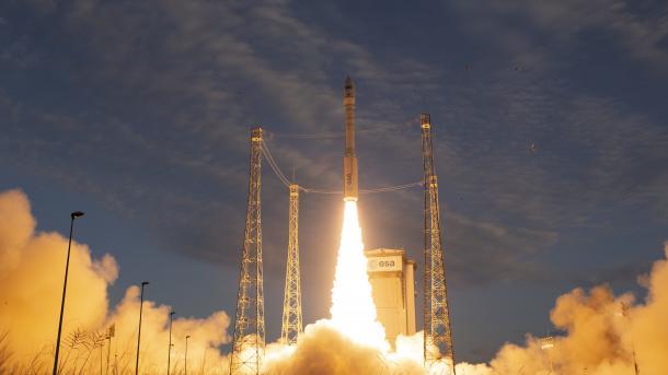 Für bessere Wettervorhersagen: ESA-Windsatellit Aeolus erfolgreich gestartet