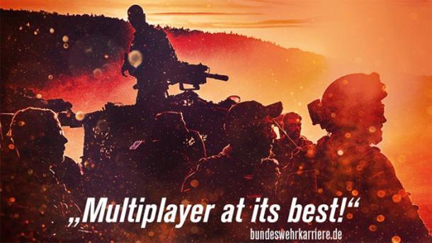 Bundeswehr verteidigt Werbung bei Gamescom