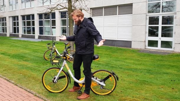 Obike: Fahrräder wechseln Besitzer, Verleiher bleibt auf Tauchstation